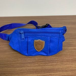 LeeKee leather fanny pack
